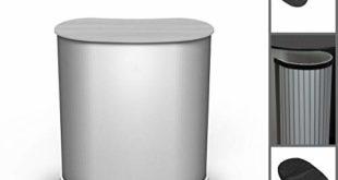 Lamellen Counter   ✓ Lamellentheke   ✓ Messetheke   ✓ Promotiontheke   ✓ Verkaufstheke von Vispronet® (Silbergrau, Oval)